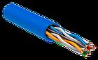 Shelbi Кабель UTP, КАТ.6 4х2х24AWG solid, PVC, 305м, синий, фото 2