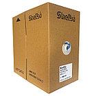 Shelbi Кабель UTP, КАТ.6 4х2х24AWG solid, PVC, 305м, синий, фото 4