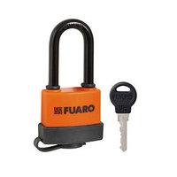 Замок навесной Fuaro PL-3650 LS, 50 мм, длинная дужка, 3 англ. ключа (комплект из 2 шт.)
