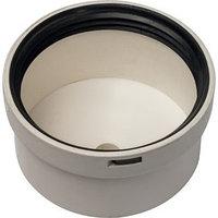 Элемент дымохода конденсационный STOUT SCA-8080-010088, крышка под сифон, DN80 (комплект из 4 шт.)