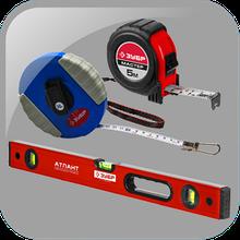 Измерительный инструмент, уровни, угольники, метры