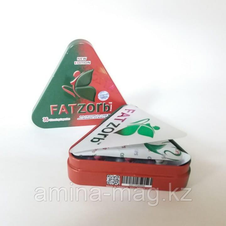Таблетки для похудения Фатзорб Fatzorb металлическая упаковка