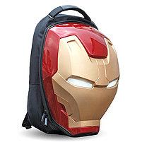 Объемный рюкзак в виде шлема Железного Человека, фото 2