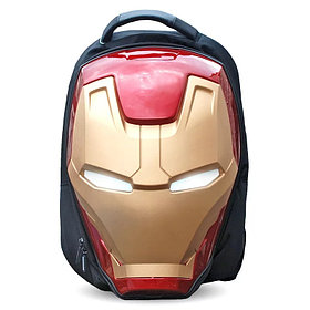 Объемный рюкзак в виде шлема Железного Человека