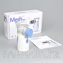 Небулайзер (ингалятор) компактный для детей и взрослых, 2 маски на батарейках (тип: электронно-сетчатый)