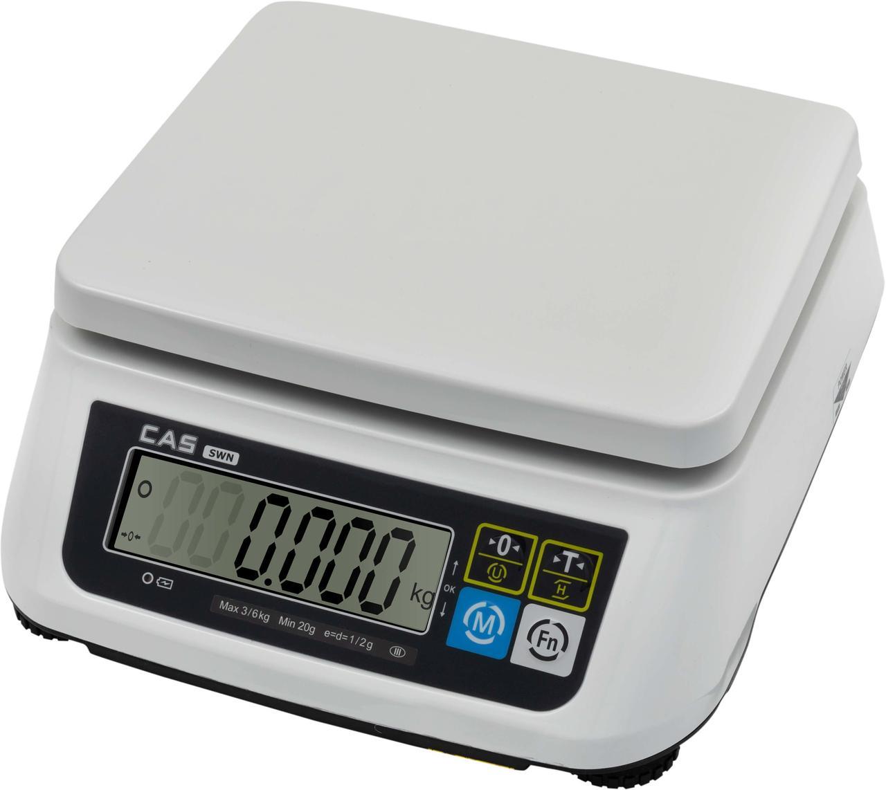 Настольные фасовочные весы SWII-DD (RS232C)