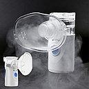 Небулайзер (ингалятор) компактный для детей и взрослых, 2 маски на батарейках (тип: электронно-сетчатый), фото 2