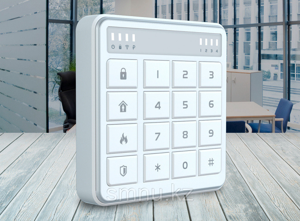 STEMAX RX410 - Контроллер охранной сигнализации со встроенной кодовой панелью