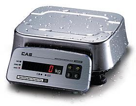 Настольные пыле- и влагозащищенные продуктовые весы FW500-15E (IP69)
