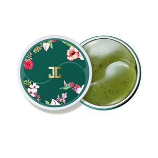 Гидрогелевые патчи с лепестками зелёного чая Jayjun Cosmetic Green Tea Eye Gel Patch