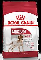 ROYAL CANIN Medium Adult, Роял Канин корм для собак средних пород, уп. 15 кг