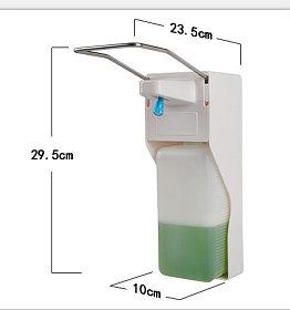Дозатор локтевой для жидкого мыла и антисептика