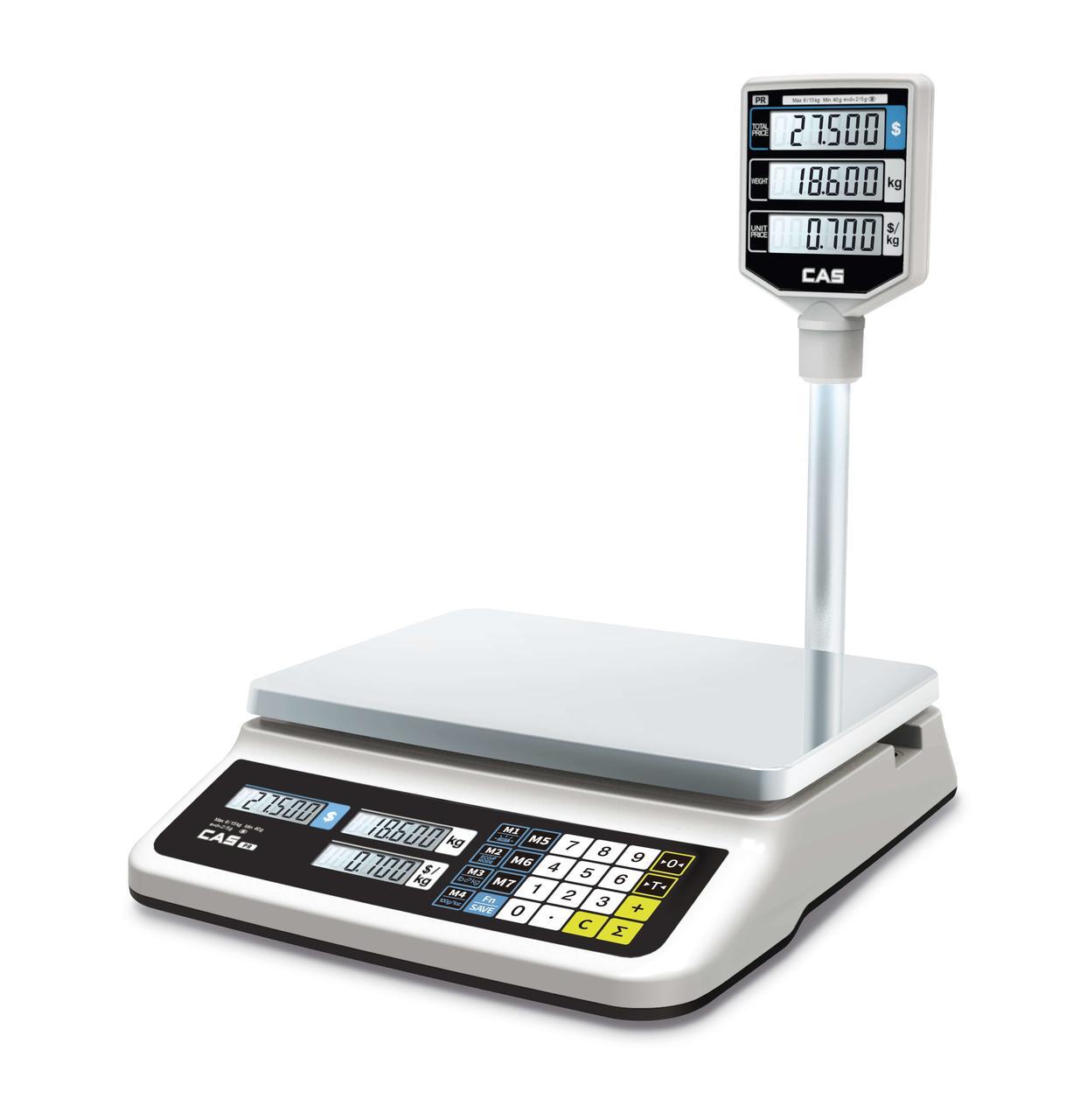 Торговые весы PRII-P (LED)