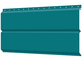 Металлосайдинг 240 мм RAL 5021 глянец Фасадная панель Europanel Цена 1095 тенге п.м  при заказе свыше 50 п.м