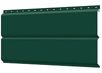 Металлосайдинг 240 мм RAL 6005  глянец Фасадная панель Europanel
