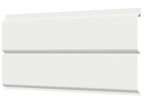 Металлосайдинг 240 мм RAL 9003 глянец Фасадная панель Europanel