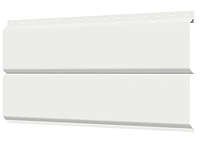 Металлосайдинг 240 мм RAL 9003 глянец Фасадная панель Europanel, фото 1