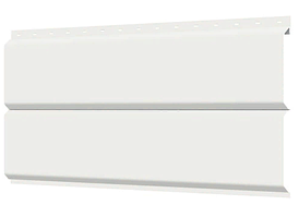 Металлосайдинг 240 мм RAL 9003 глянец Europanel Цена 1095 тенге при заказе свыше 50 п.м