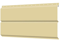 Металлосайдинг 240 мм RAL 1014 глянец  Europanel Цена 1095 тенге при заказе свыше 50 п.м, фото 1