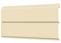 Металлосайдинг 240 мм RAL 1015 глянец Europanel Цена 680 тенге при заказе свыше 50 п.м