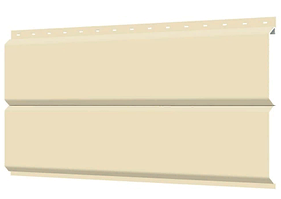 Металлосайдинг 240 мм RAL 1015 глянец Europanel Цена 1095 тенге при заказе свыше 50 п.м