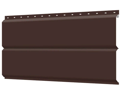 Металлосайдинг 240 мм RAL 8017 глянец  Europanel Цена 1040 тенге при заказе свыше 50 п.м