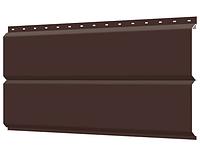 Металлосайдинг 240 мм RAL 8017 глянец  Europanel Цена 1040 тенге при заказе свыше 50 п.м, фото 1