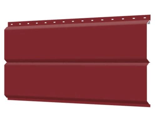 Металлосайдинг 240 мм RAL 3011 глянец Фасадная панель Europanel  Цена 1095 тенге при заказе свыше 50 п.м