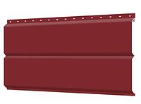 Металлосайдинг 240 мм RAL 3011 глянец Фасадная панель Europanel  Цена 1095 тенге при заказе свыше 50 п.м, фото 1
