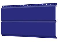 Металлосайдинг 240 мм RAL 5002 глянец Фасадная панель Europanel Цена 1040 тенге при заказе свыше 50 п.м