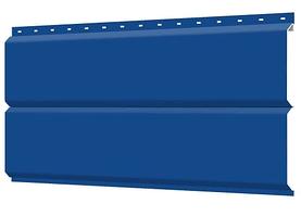 Металлосайдинг 240 мм RAL 5005 глянец Europanel Цена 1095 тенге при заказе свыше 50 п.м