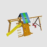 """Игровой комплекс """"Анкона Дуэт"""", с крышей, лестницами, скалодромом, горкой, фото 1"""