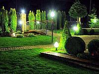 Освещение частных, загородных участков