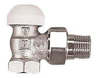Термостатический клапан ГЕРЦ-TS-90 проходной для двухтрубной системы отопления 15, угловой