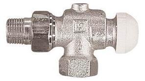 Термостатический клапан ГЕРЦ-TS-90 проходной для двухтрубной системы отопления 15, осевой