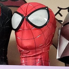 Маска Человека Паука с объемными глазами