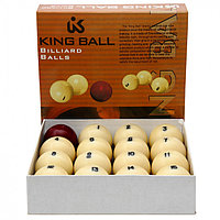 Бильярд шары King Ball Русский