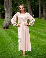 Платье Лілея поплин розовый