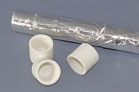 Керамические тигли, премиум Ø 1 , завернуты в фольгу, 1,000 штук