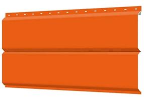 Металлосайдинг 240 мм RAL 2004 глянец Фасадная панель Europanel Цена 1140 тенге при заказе свыше 50 п.м