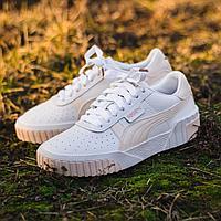 Кроссовки Puma Cali Wn s White Rosewater 36915513 размер: 38,5