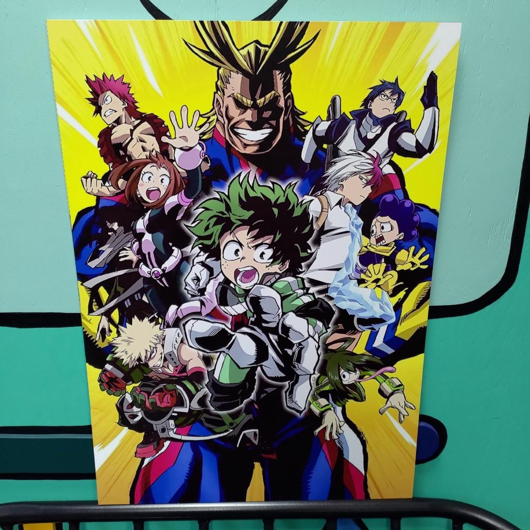 Постер  Моя геройская академия