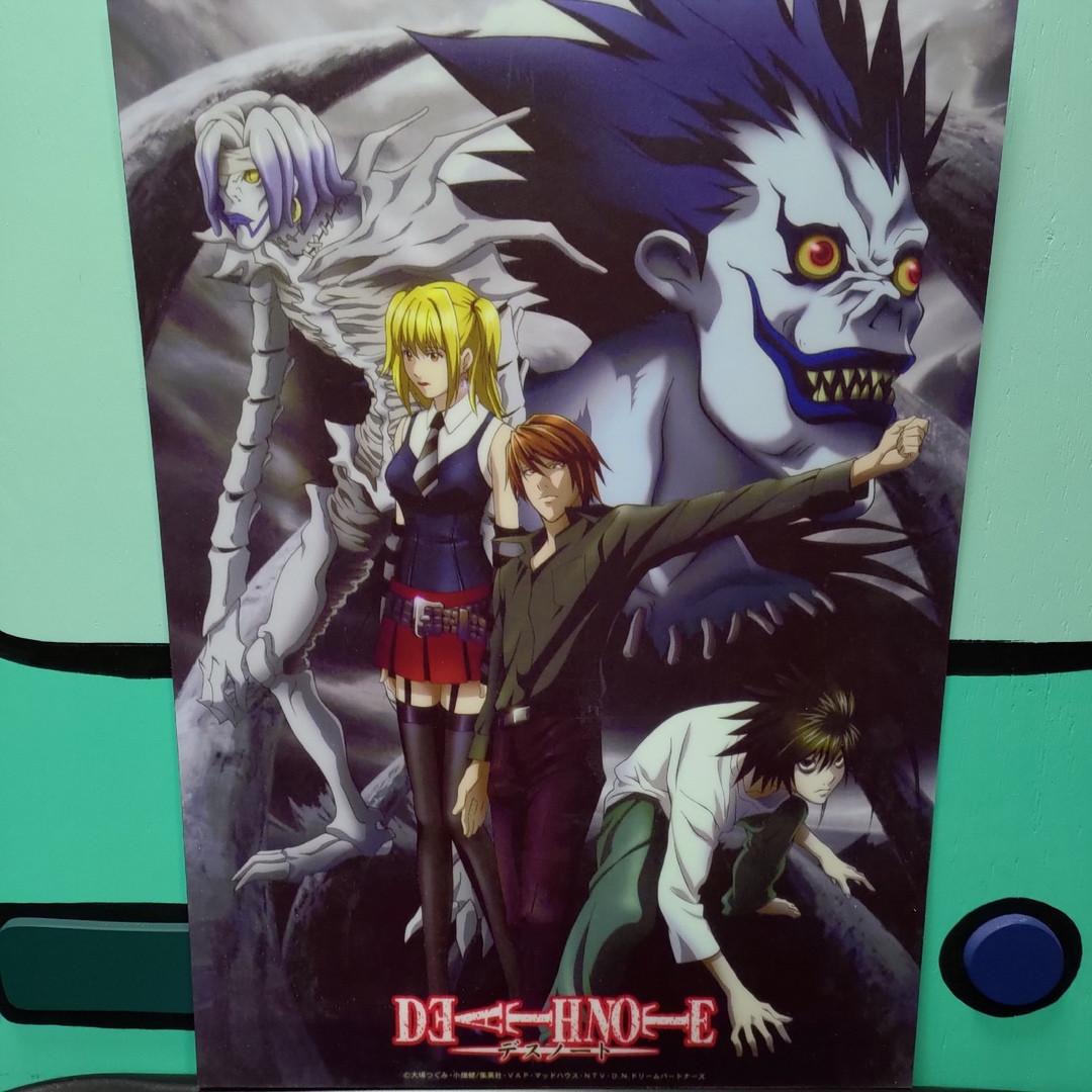 Постер  Тетрадь смерти