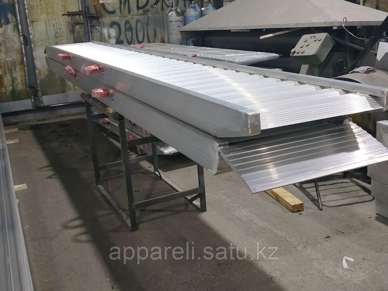 Алюминиевые сходни от производителя (трап, аппарель) 10 тонн