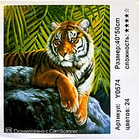 """Картина по номерам """"Тигр"""" 50*40"""