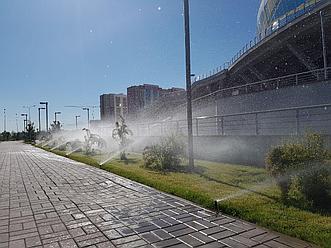 """Автоматический полив Hunter """"под ключ"""" в Алматы и области"""