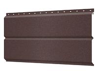 Металлосайдинг 240 мм RAL 8017 Матовый  Europanel Цена 1265 тенге при заказе свыше 50 п.м