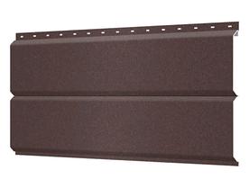Металлосайдинг 240 мм RAL 8017 Матовый  Europanel Цена 1170 тенге при заказе свыше 50 п.м