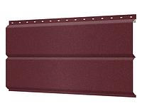 Металлосайдинг 240 мм RAL 3004 Матовый  Europanel Цена 1265 тенге при заказе свыше 50 п.м