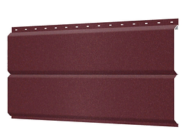 Металлосайдинг 240 мм RAL 3004 Матовый  Europanel Цена 1170 тенге при заказе свыше 50 п.м